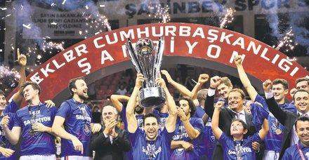 35. Cumhurbaşkanlığı Kupası'nın sahibi Anadolu Efes!