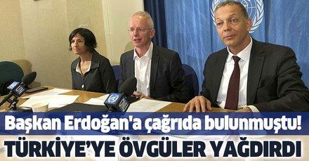 Küresel Mülteci Forumu Direktörü'nden Türkiye'ye övgü
