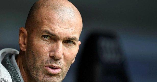 Galatasaray maçı öncesi Zidane şoku!