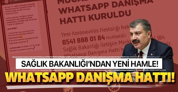 Sağlık Bakanlığı'ndan yeni adım! 'WhatsApp Danışma Hattı'