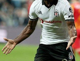 Beşiktaşlı Vagner Love Galatasaray'a haber yolladı