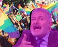 ABD'de sapkın LGBT'lilerin yürüyüşüne katılmış