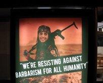 İngiltere'de skandal YPG posterleri