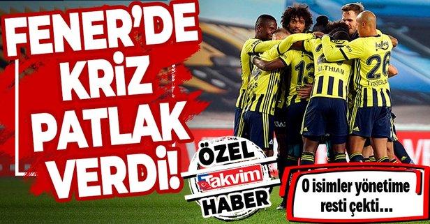 Fenerbahçe'de kriz! Perotti, Dirar, Ademi, Lemos ve Cisse...