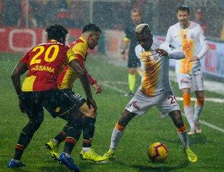 Aslan'dan kritik galibiyet! (MS: Göztepe 0-1 Galatasaray)