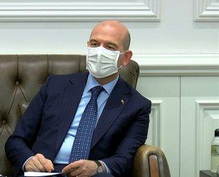 SON DAKİKA: İçişleri Bakanı Süleyman Soylu: Benim ve ailemin koronavirüs testi pozitif çıktı
