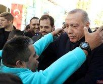 Cumhurbaşkanı Erdoğan Üsküdarda