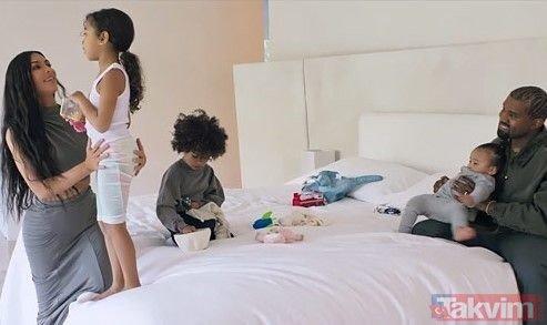 Kim Kardashian evinin kapılarını takipçilerine açtı! İşte Kim Kardashian'ın sıradışı banyosu ve yatak odası