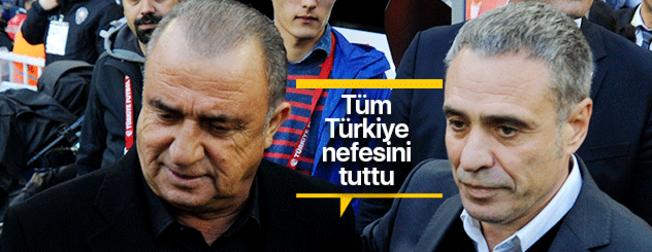 Galatasaray-Fenerbahçe derbisi öncesi 11'ler netleşti! G.Saray'da o isimler tribünde...