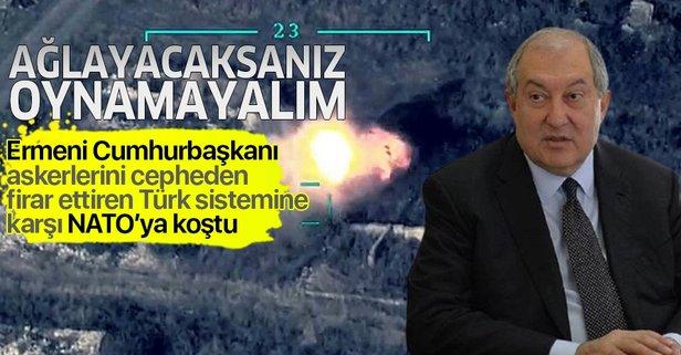 Ermeni Cumhurbaşkanı ağlıyor!
