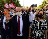 O partilerden Ersin Tatar'a tam destek!