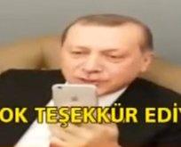 Erdoğan'dan engelli takipçisine büyük jest