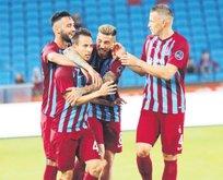 Trabzonspordan 3 puanlı veda