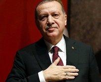 Başkan Erdoğan'dan 'Filenin Sultanları'na tebrik!