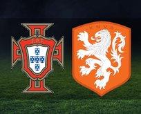 Portekiz-Hollanda maçı hangi kanalda?