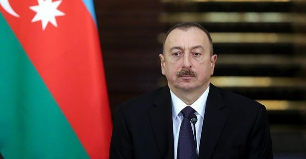 Aliyev'den Başkan Erdoğan'a taziye mesajı