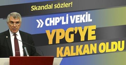 CHP'li vekil Ünal Çeviköz terör örgütü YPG'ye 'kalkan' oldu