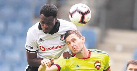 Beşiktaş, Cskaya farklı yenildi