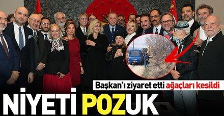 Başkan Erdoğan'ı ziyaret eden Kutluğ Ataman'a linç girişimi