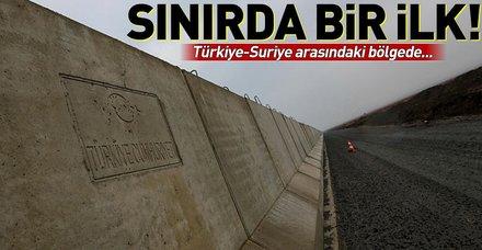 Türkiye'nin doğu sınırında bir ilk! Türkiye-Suriye arasındaki bölgede...