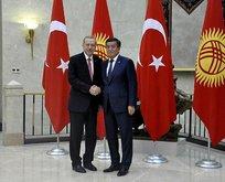 Başkan Erdoğan Kırgızistandaki toplantıya başkanlık etti