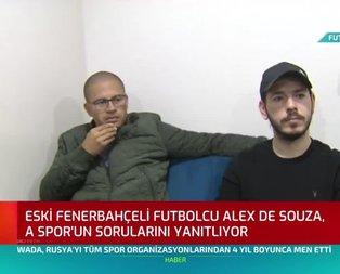 Alex'den A Spor'a özel çarpıcı açıklamalar!