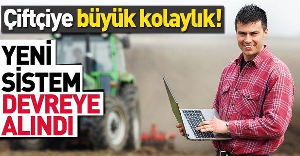 e-Çiftçi sistemi devrede - Takvim
