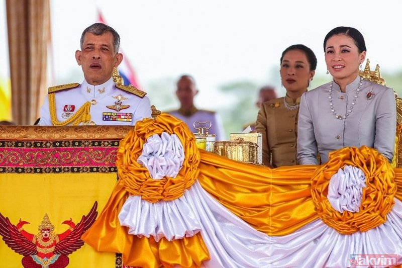 Kraliyet ailesi Kral Maha'nın 'resmi metres'inin fotoğraflarını paylaştı! İnternet sitesi çöktü