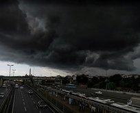 Meteoroloji'den kritik uyarı! Gök gürültülü sağanak geliyor