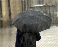 Meteorolojiden 13 il için sağanak yağış uyarısı!