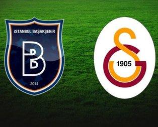 Başakşehir - Galatasaray maçının muhtemel 11'leri