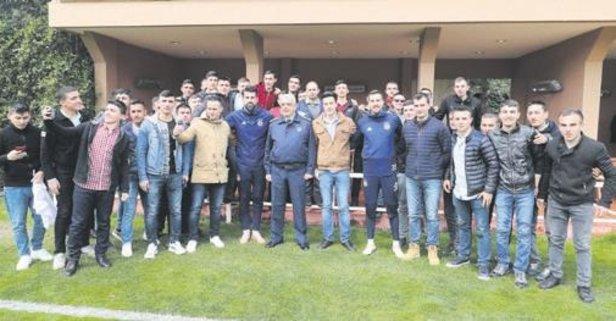 Fenerbahçe'ye askeri ziyaret