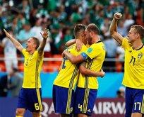 Meksika'yı farklı geçen İsveç lider bitirdi