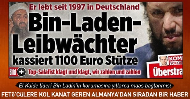 Almanyada Bin Ladin skandalında flaş gelişme!