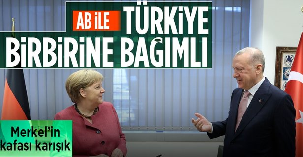 Merkel'den dikkat çeken mesaj!