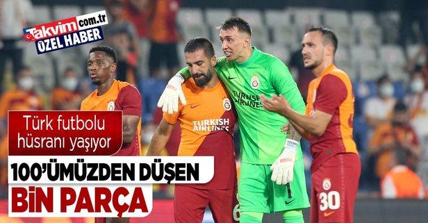 Türk futbolu Avrupa'da hüsranı yaşıyor