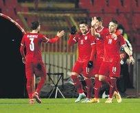 Sırbistan Rusya'yı 5 golle devirdi!