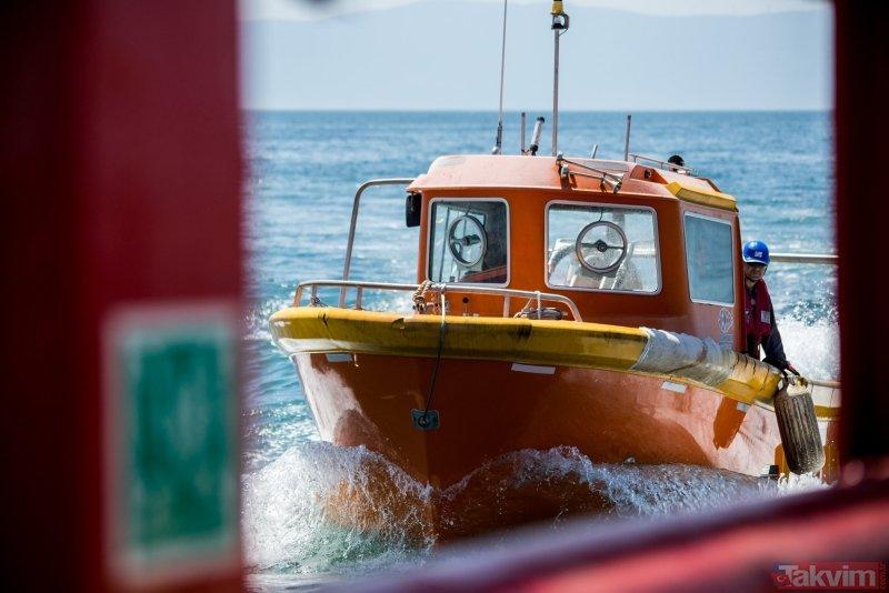İşte Türkiye'nin ilk yerli sismik araştırma gemisi MTA Oruç Reis