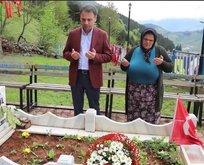 Şehit Eren Bülbül'ün annesine anlamlı ziyaret