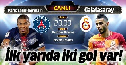 Paris Saint-Germain (PSG) - Galatasaray   CANLI ANLATIM