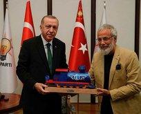 Başkan Erdoğan'a anlamlı hediye