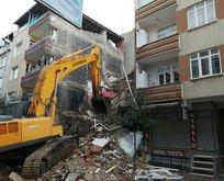 İstanbul'da korkutan yıkım! Vatandaş sokağa döküldü