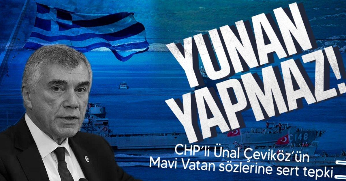 CHP'li Ünal Çeviköz'ün skandal Mavi Vatan açıklamasına sert tepki: Senin yaptığını Yunan yapmaz! - Takvim