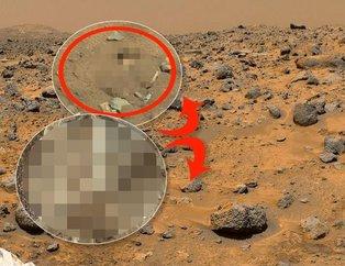 Mars'ta dünyayı meraklandıran görüntü! Doğruysa her şeyi değiştirecek