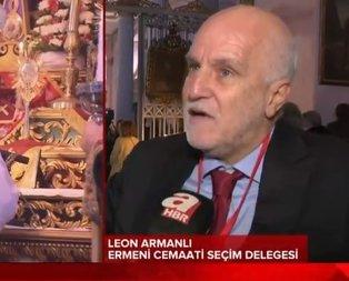 Türkiye'deki Ermenilerden Başkan Erdoğan'a teşekkür