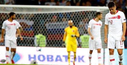 Türkiye, Rusyaya deplasmanda 2-0 mağlup oldu
