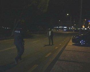 Bursada polisi alarma geçiren olay