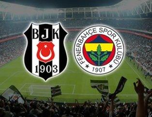İşte Beşiktaş-Fenerbahçe maçının ilk 11'leri