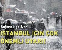Meteorolojiden İstanbul için çok önemli uyarı