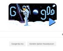 Ay'a inişin 50. yıl dönümü Google'da Doodle oldu!
